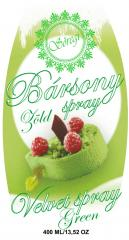 Bársony Spray 400ml Zöld